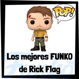 Los mejores FUNKO POP de Rick Flag de DC - Funko POP de Escuadron Suicida - Funko POP de personajes de DC