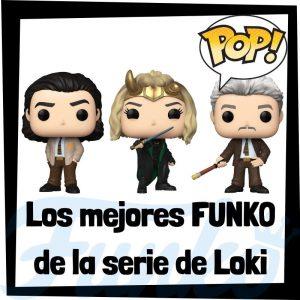 Los mejores FUNKO POP de la serie de Loki - Los mejores FUNKO POP de personajes de Loki de series de Disney+