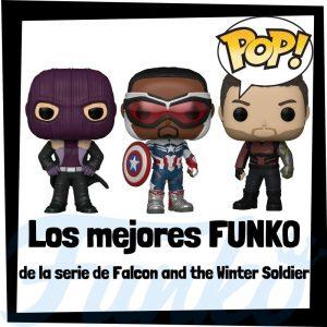 Los mejores FUNKO POP de la serie de The Falcon and the Winter Soldier - Los mejores FUNKO POP de personajes de Falcon and the Winter Soldier de series de Disney+