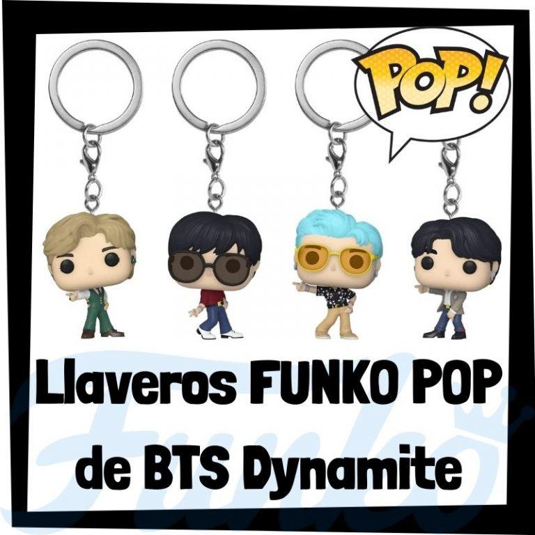 Lee más sobre el artículo Los mejores llaveros FUNKO POP de BTS Dynamite