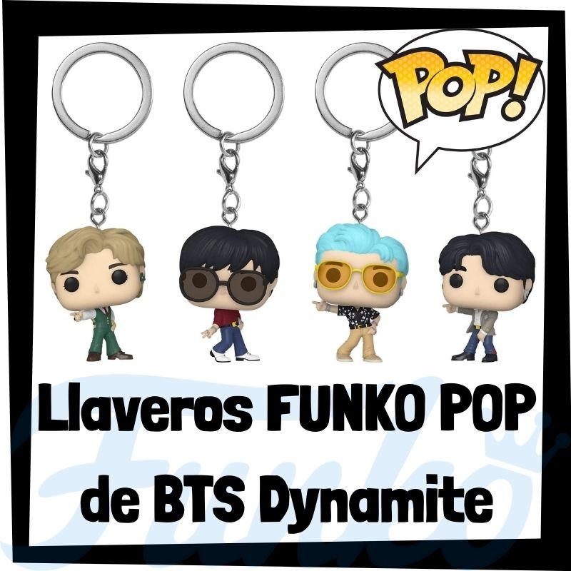 Los mejores llaveros FUNKO POP de BTS Dynamite