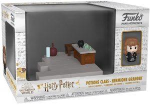 FUNKO Mini Moments de Hermione Granger - FUNKO Mini Moments de Harry Potter de la clase de pociones - Potions Class