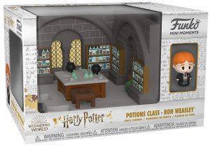 FUNKO Mini Moments de Ron Weasley - FUNKO Mini Moments de Harry Potter de la clase de pociones - Potions Class