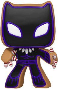 FUNKO POP de Black Panther de Gingerbread de Navidad - Los mejorea FUNKO POP de Marvel de Gingerbread de Marvel Holiday