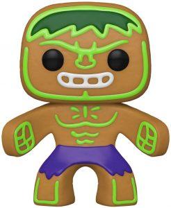 FUNKO POP de Hulk de Gingerbread de Navidad - Los mejorea FUNKO POP de Marvel de Gingerbread de Marvel Holiday