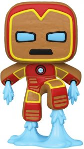 FUNKO POP de Iron man de Gingerbread de Navidad - Los mejorea FUNKO POP de Marvel de Gingerbread de Marvel Holiday