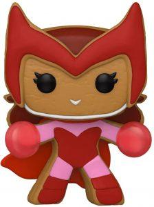 FUNKO POP de Scarlet Witch de Gingerbread de Navidad - Los mejorea FUNKO POP de Marvel de Gingerbread de Marvel Holiday