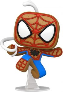 FUNKO POP de Spider-man de Gingerbread de Navidad - Los mejorea FUNKO POP de Marvel de Gingerbread de Marvel Holiday