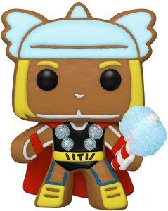 FUNKO POP de Thor de Gingerbread de Navidad - Los mejorea FUNKO POP de Marvel de Gingerbread de Marvel Holiday