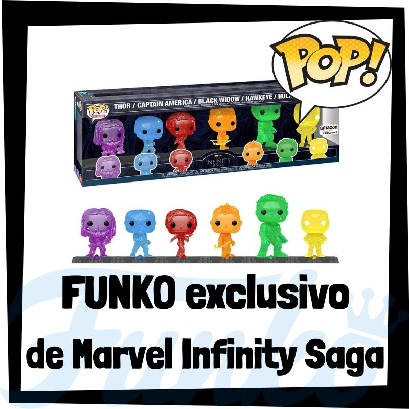 FUNKO POP exclusivo de Marvel Infinity Saga
