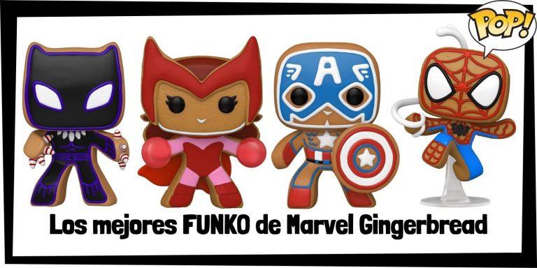 Guía FUNKO POP de Marvel Gingerbread - FUNKO POP de Marvel Hombre de Jengibre - Funko POP de Gingerbread de Marvel