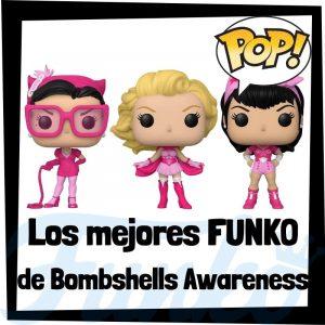 Los mejores FUNKO POP de DC Bombshells Awareness - Funko POP de DC del Cáncer de Mama - Figuras y muñecos FUNKO POP de DC Bombshells