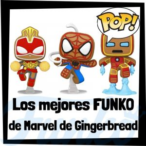 Los mejores FUNKO POP de Marvel Gingerbread - FUNKO POP de Marvel Hombre de Jengibre - Funko POP de Gingerbread de Marvel