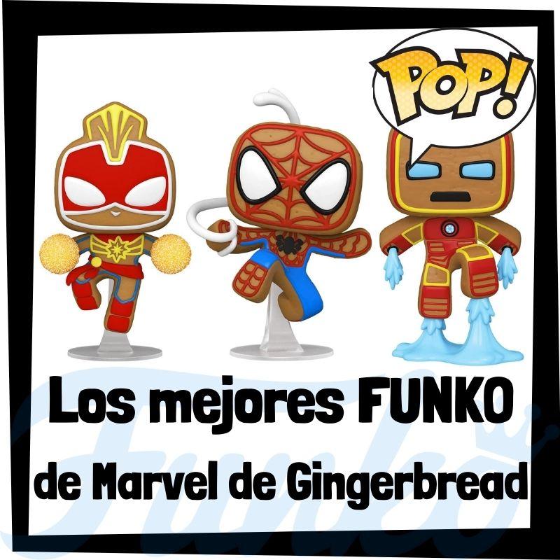 Los mejores FUNKO POP de Marvel Gingerbread