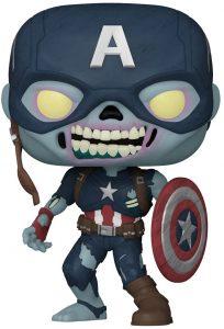 Funko Pop De Zombie Capitán América De What If – Los Mejores Funko Pop De What If De Marvel Zombies