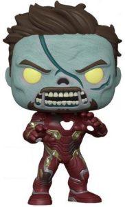 Funko Pop De Zombie Iron Man De 25 Cm De What If De Marvel Zombies