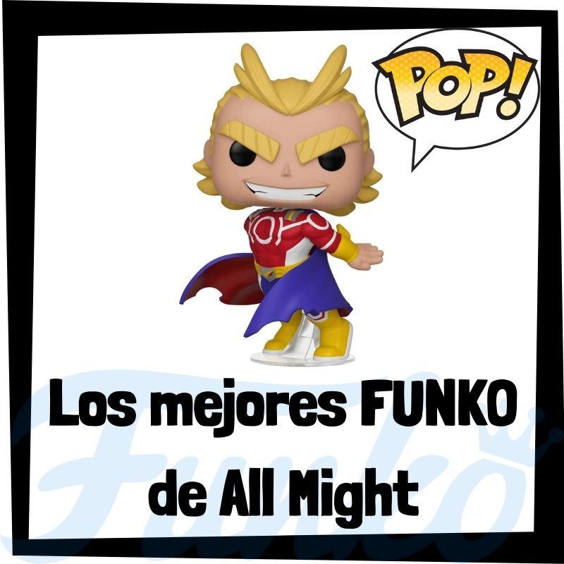 Los mejores FUNKO POP de All Might de My Hero Academia
