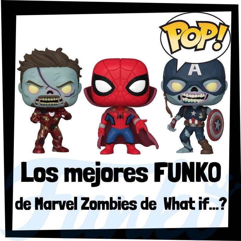 Los mejores FUNKO POP de Marvel Zombies de What If?