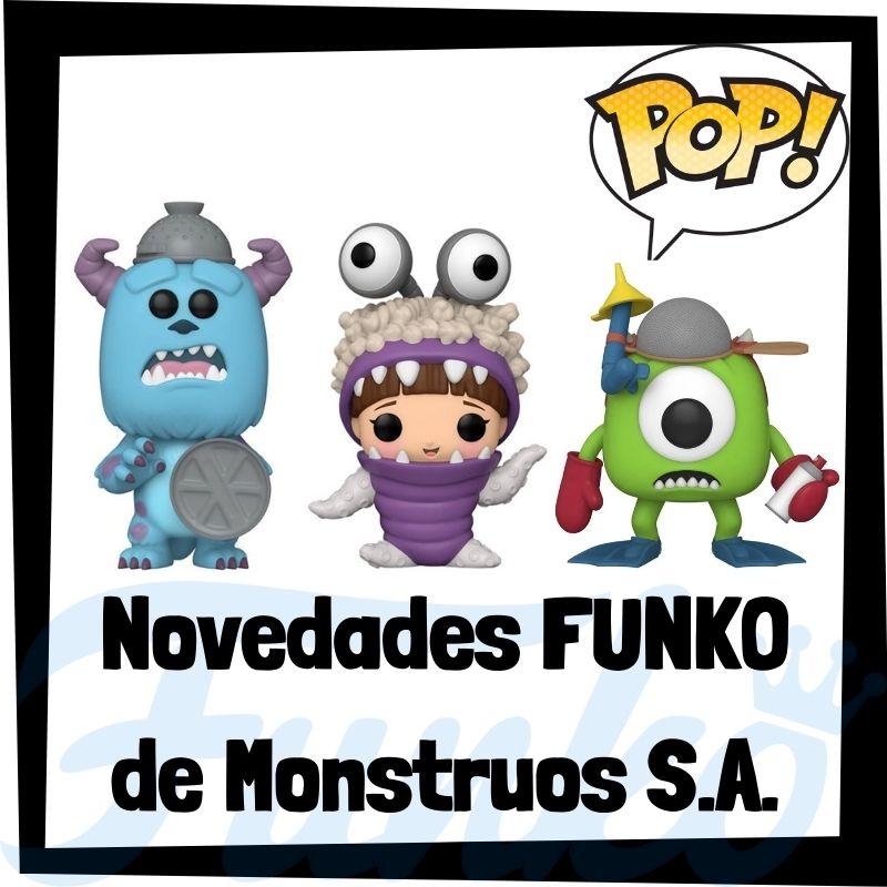Novedades FUNKO POP de Monstruos S.A. de 2021