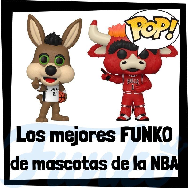 Los mejores FUNKO POP de mascotas de la NBA