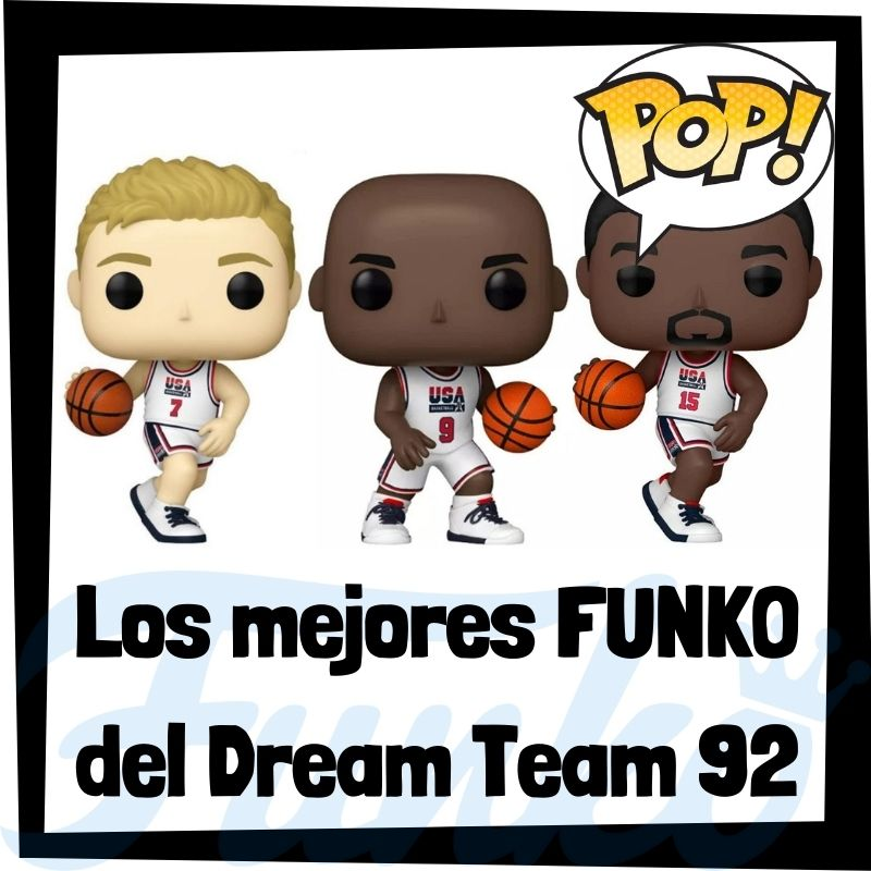 Los mejores FUNKO POP del Dream Team del 92 de la NBA