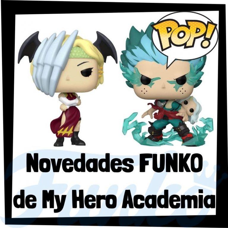 Lee más sobre el artículo Novedades FUNKO POP de My Hero Academia de 2021